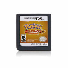 Pokemon: HeartGold Version (Nintendo DS, 2010) English Language - Cartridge Only