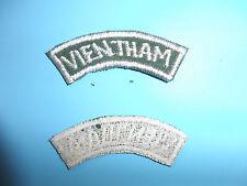 b4268 RVN Tab Vietnam Long Range Reconnaissance Patrol LRRP Vien Tham white