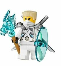 LEGO Ninjago Zane w/ Katanas, shield, axe, Battle for Ninjago City 70728 New