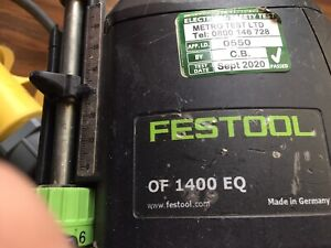 Festool  110v Router  Only No Accessories With It