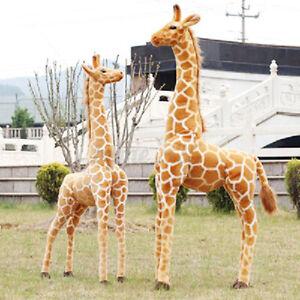 60/70/100CM Plush Giraffe Toys Giant Large Stuffed Cute Animal Doll Kid Xmas