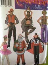 Simplicity Sewing Pattern 4464 Adult Ballet Pirate Santa Costume Size S-L UC