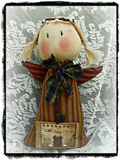Handmade*Primitive *Attic Angels* Angel Doll*Vintage Key*FAITH FAMILY FRIENDS*