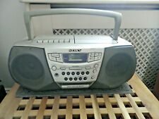 Sony CFD-S22L Portable CD Radio Cassette recorder Boombox