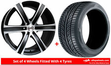 L 200 6 Car Wheels with Tyres