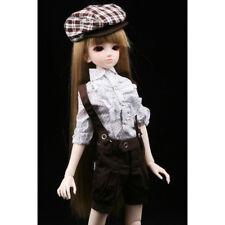 New Champagne Black Strapless Dew Shoulder Skirt BJD 1//3 1//4 MSD Doll Clothes