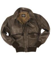 Manteaux et vestes marron en cuir taille L pour homme