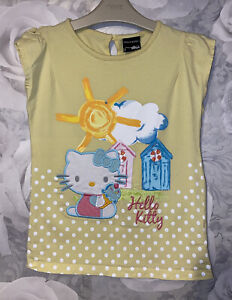 Girls Age 7-8 Years - Hello Kitty Summer Top From George