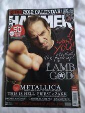 Metal Hammer #226 JAN 2012: LAMB OF GOD Rammstein KISS Metallica THIS IS HELL