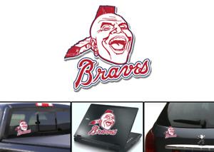 Atlanta Braves Vintage Logo 1966-1986 Sticker Vinyl Vehicle Laptop Decal