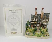 David Winter Spencer Hall Gardens 1995 Box, COA, Limited Edition 2142/4300
