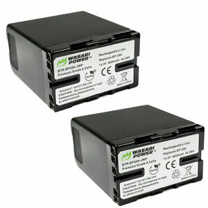 Wasabi Power Battery for Sony BP-U60 (2-Pack)