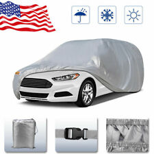 Car Cover Outdoor /& Indoor HPEVA Gray 100/% Waterproof Breathable UV Soft