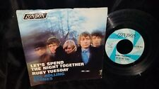 THE ROLLING STONES Let's Spend the Night Together 45 RECORD WITH PS PIC SLEEVE