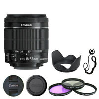 Canon EF-S 18-55mm f/3.5-5.6 IS STM Lens + Deluxe Accessory Kit