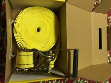 Ratchet Tie Down 10m X 50mm 2.8mm Thickness 5 Ton