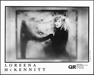 Loreena McKennitt Original 1990s Agence Promo Portrait Photo Celtic World Music