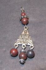 Abstract Pyramid and Beads Pendant (52418)