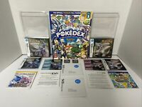 MINT 100% COMPLETE & Authentic Pokemon Diamond & Pearl Version Nintendo DS Poked