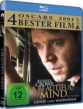 A BEAUTIFUL MIND (Russell Crowe, Ed Harris) Blu-ray Disc NEU+OVP