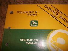 John Deere Operator'S Manual 2755 And 2855 N Tractors