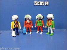 (M49.1) playmobil équipage hélicoptère de secours en montagne 3845