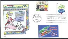 THE ARCHIES- BETTY'S CHRISTMAS CARD  VERONICA   SEASONS GREETINGS      FDC-  DWc