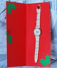 SWATCH Christmas '97 HAPPY NEW YEAR limited edition solo ITALY NEW with box