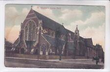 RARE VINTAGE POSTCARD ST STEPHENS CHURCH, UPTON PARK, EAST LONDON