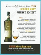the SCOTCH MALT WHISKY SOCIETY - Print Ad # 202 1