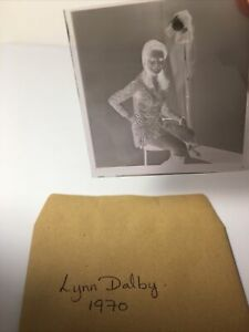 Lynn Dalby . 1970. 2x2 Vintage Original Negative .