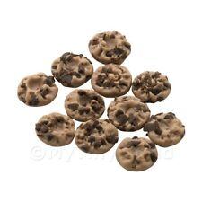 6x casa delle bambole in miniatura piccole biscotti al cioccolato