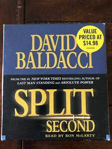 Split Second  Audio CD , David Baldacci  5 CD Abridged