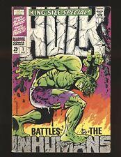 Incredible Hulk Special # 1 - Steranko cover VG/Fine Cond.