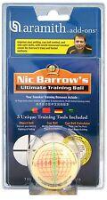 "ARAMITH Nic Barrow's Ultimate Training Snooker Pool Billiard Cue Ball 2 1/15"""