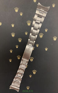 """Rolex Date Air King Mens Oyster Bracelet 7835 19mm SS Band """"357"""" Ends Ref: 6694"""