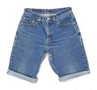 Levis Mens Blue Denim Shorts Size W30/L10