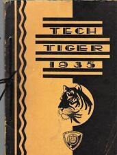 1935 Tech Tiger - Springfield Technical High School Yearbook - NAMES IN LISTING!