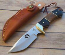 Couteau de Chasse Elk Ridge Hunter Manche en bois différents Acier 440 ER073