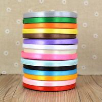 22 metres Wedding Christmas Thin Grosgrain Ribbon - 6mm Widths Various Colours