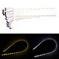1x tira LED luz DC 12V LED iluminación 5050 SMD LED lámpara cintabateríacajaH5