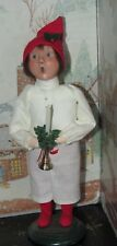 BYERS CHOICE CAROLER Williamsburg Boy in Nightgown with Candle 2006   *