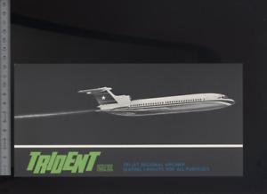 (192) Brochure aviation Aircraft Hawker Siddeley Trident 2E