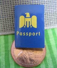 Mini Paper Cardboard Barbie Travel Passport-Train/Plane/Car-Diorama 1:6 Scale