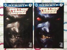 Justice League of America #1 | Exclusive Mattina Lobo Variant Set | NM | DC