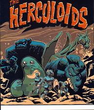 The HERCULOIDS PRINT Dark Tones Hanna Barbera Igoo Zandor Gloop Gleep Zok Tundro