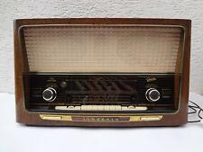 Graetz Sinfonia 4R / 422 Raumklang Spitzensuper Röhrenradio vintage Radio