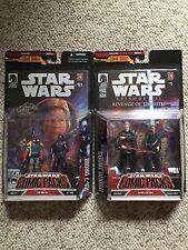 Star Wars Dark Horse Comic Pack - Boba Fett RA-7 Count Dooku Skywalker