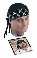 Pirate Bandana Deluxe Headwear Accessory for Sailor Buccanneer Fancy Dress Headw