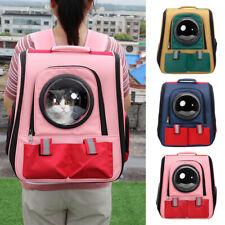 Pet Backpack Capsule Dog Cat bubble Bag Transparent Space Hiking Biking Carrier